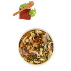 Supă vietnameză pho cu pui image