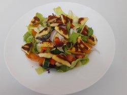 Salata cu branza halloumi image
