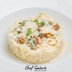 Risotto blue cheese