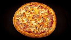 Pizza Prosciutto e funghi 26 cm image