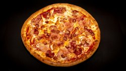 Pizza Quattro Carni 26 cm image