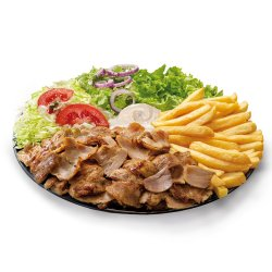 Piatto Kebab - mediu