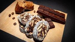 Tort de biscuiți vegan image