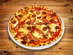 Pizza cu cârnați 45 cm