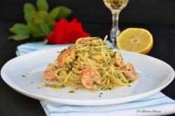 Spaghete con Gamberi ( creveți ) image