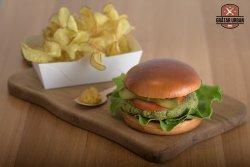 Burger vegetarian image