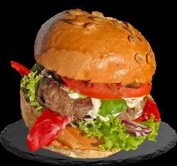Crazy king burger image