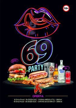 50% reducere 69 PARTY  - ABSOLUT VODKA image