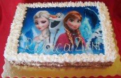 """Tort """"Ana și Elsa"""""""