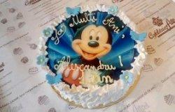 "Tort ""Mickey"" blue"