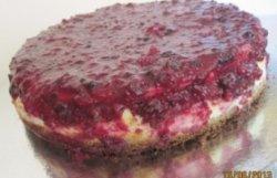 Cheesecake cu fructe de pădure