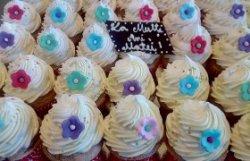 Cupcakes cu cremă de ciocolată