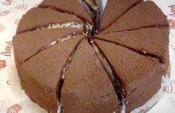 Tort Dukan ciocolată și vanilie