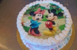 "Tort ""Minnie și Mickey"""