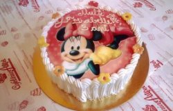 Tort Minnie roz