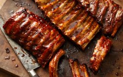 Costeloette di maiale - Pork ribs in the oven image