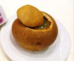 Ciorbă de fasole în pâine (post) image