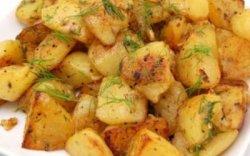 Cartofi copți cu usturoi image