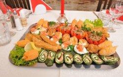 Nr. 01: Platou de pește pentru 4 persoane