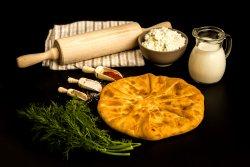 Plăcintă cu brânză de vaci și mărar image