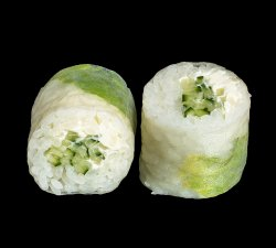 Cucumber & Cheese Summer Roll image