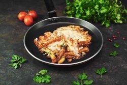 Cartofi țărănești cu șunculiță și mozzarella image