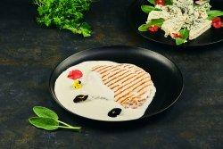 Cotlet de porc la grătar cu sos gorgonzola image
