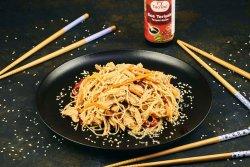 Noodles cu pui si legume image