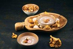 Supăcremade ciuperci & crutoane home made image