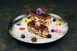 Tort de biscuiti cu ciocolata image