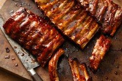Coaste de porc la grătar image