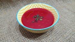 Supa crema de sfecla rosie cu seminte de dovleac image