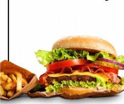 Burger de vită + pui image