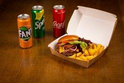 Burger & Fries image