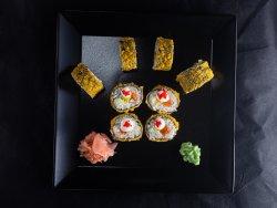 Tobiko Salmon Fantasy – Rolă prăjită în pesmet image