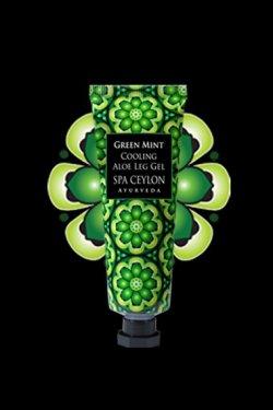 Green Mint Cooling Aloe - Gel pentru picioare (tub)
