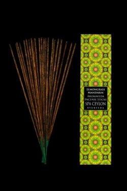 Lemon Grass & Mandarin - Bețișoare parfumate Aromaveda