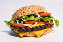 Cheeseburger de vită  image