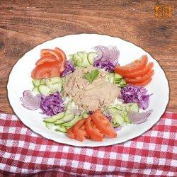 Salată diet cu ton