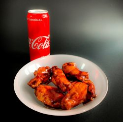 5 x BBQ wings image