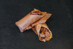 40% Reducere: Crunchy roll cu pui rotisat image