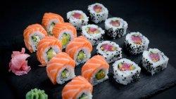 Salmon and Tuna Combo (16 pcs) image