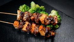 Beef Tenderloin, Celery & Broccoli image