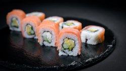 Smoked Salmon Philadelphia Roll (8 pcs) image