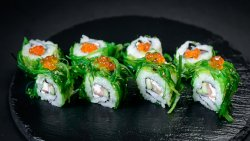 Spicy Moscow Slamon Roll (8 pcs) image