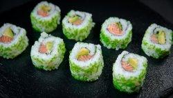Spicy Salmon California Roll (8p cs) image