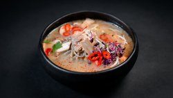 Spicy Salmon Soup image