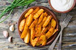 Cartofi wedges prăjiți image