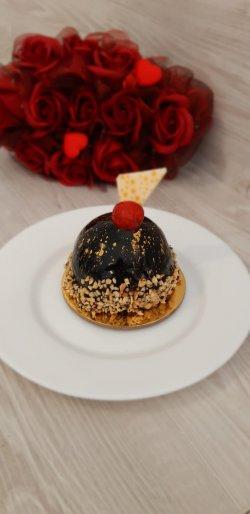 Mousse ciocolată și vișine image