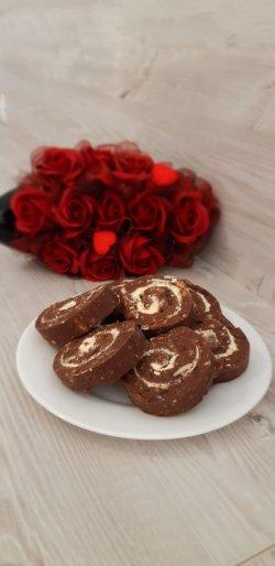 Ruladă biscuiți cu cocos image